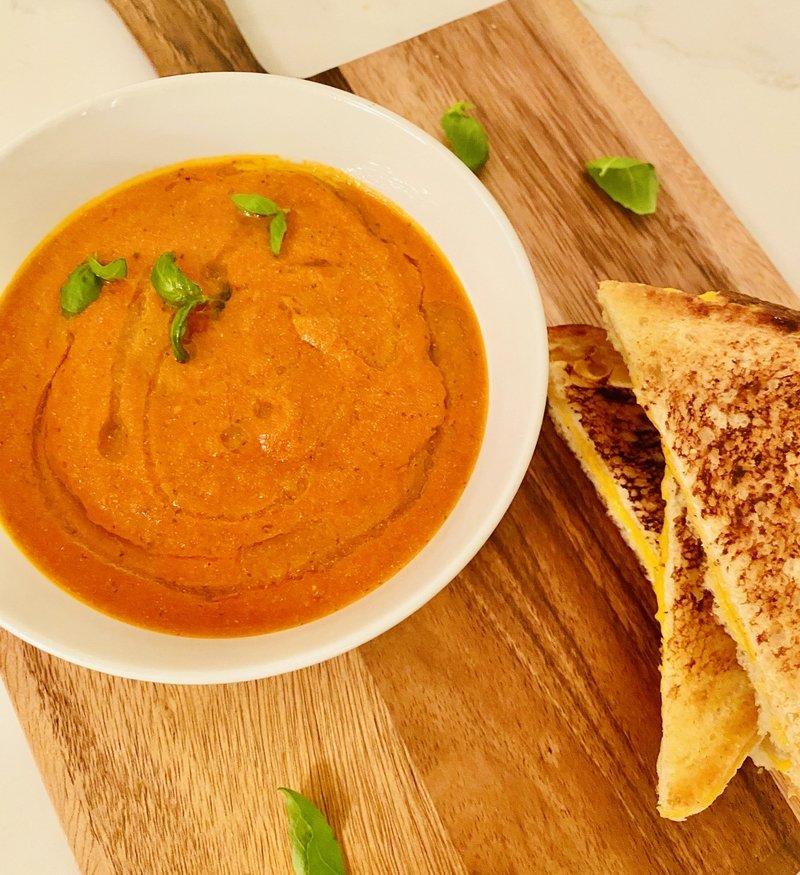 30 minute cream of tomato soup
