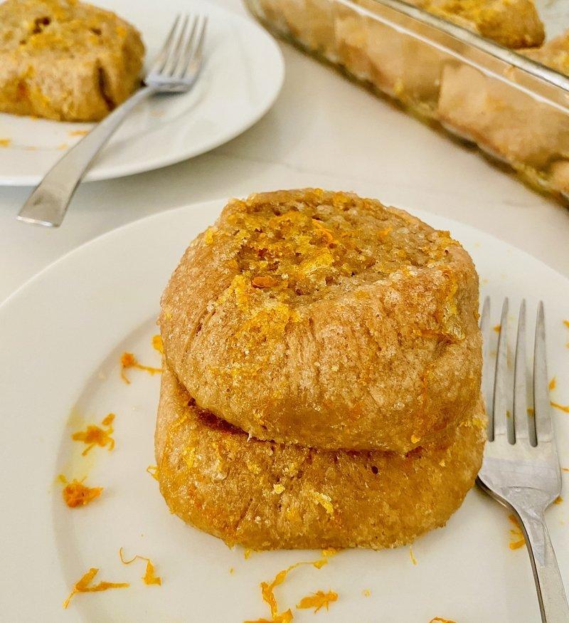 anytime orange and sugar glazed rolls
