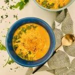 creamy chickpea and tomato soup