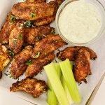 the best keto air fryer cajun chicken wings