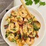 the best garlic butter shrimp scampi