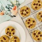 zucchini chocolate chip oatmeal muffin cups