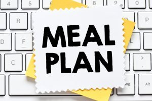 dinner meal plan